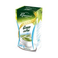 Rossini Arabica őrölt zöldkávé 100%