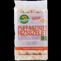 Biopont puffasztott rizs natúr (Pingvin Product)