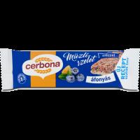 Cerbona áfonyás müzliszelet joghurtos bevonó talppal 20 g (Pingvin Product)
