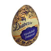 Diabette tojás tejcsokoládé figura fruktózzal