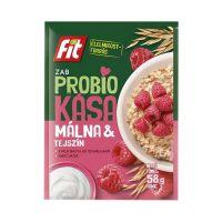 Fit Probio zabkása Málna-tejszín ízű fruktózzal