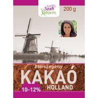 SZAFI FITT HOLLAND KAKAÓPOR 10-12% (Pingvin Product)