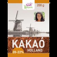 SZAFI FITT HOLLAND KAKAÓPOR 20-22% (Pingvin Product)