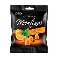 Mentina zselécukorka narancs menta - 90g