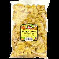 Naturfood Banán chips (Pingvin Product)